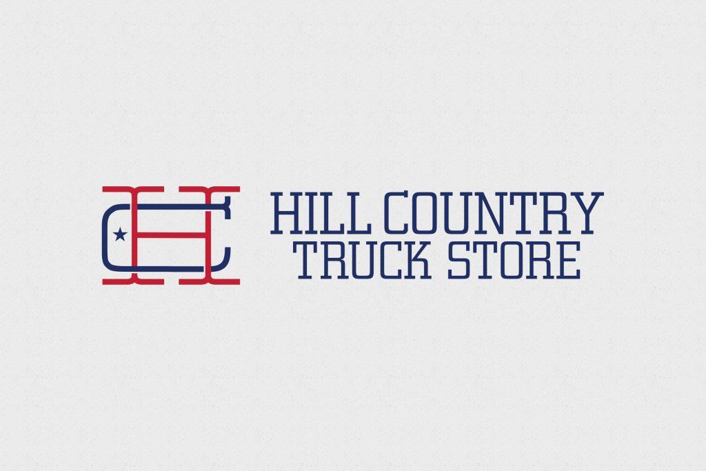 San Antonio Design Hill Country Truck Store Logo