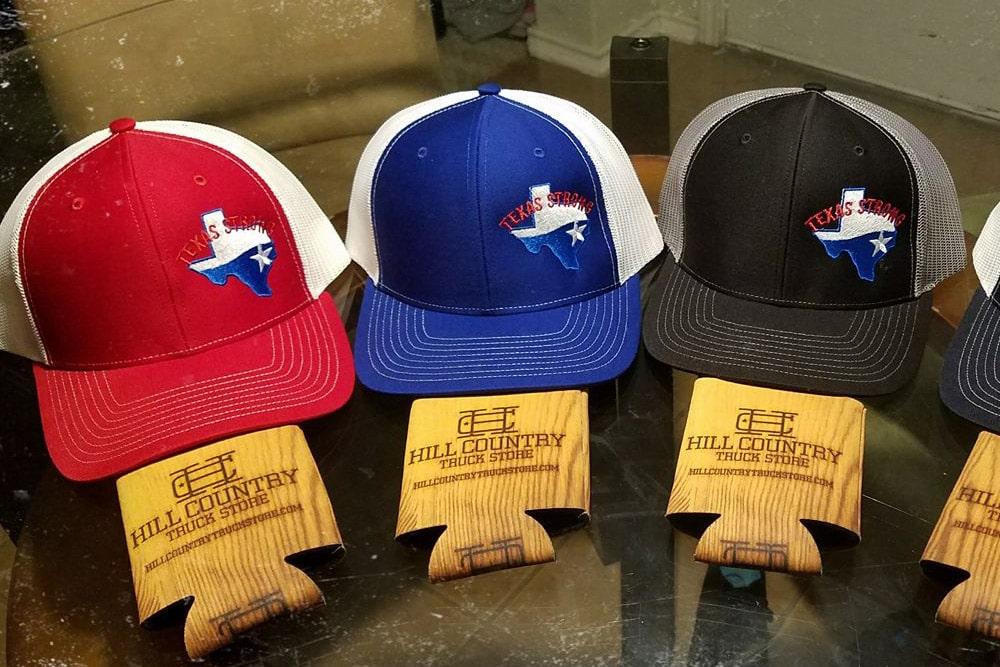 Texas Strong Logo Hats San Antonio Design