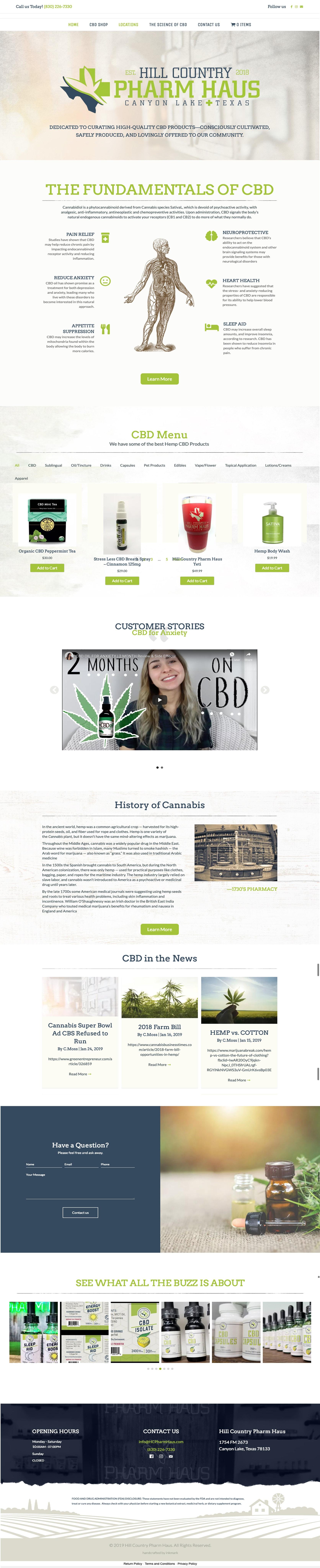 CBD-Web-Design-HC-Pharm-Haus
